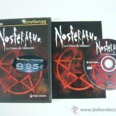 Videojuegos y Consolas: NOSFERATU / AVENTURA / CLÁSICO / PC. Lote 37422906