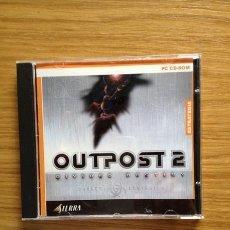 Videojuegos y Consolas: OUTPOST 2 JUEGO DE PC DE ESTRATEGIA EN TIEMPO REAL. Lote 37457868