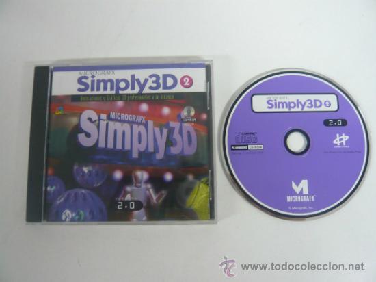 MICROGRAF SIMPLY 3D 2 - APLICACION - PROGRAMA - PC (Juguetes - Videojuegos y Consolas - PC)