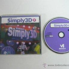 Videojuegos y Consolas: MICROGRAF SIMPLY 3D 2 - APLICACION - PROGRAMA - PC. Lote 37513097