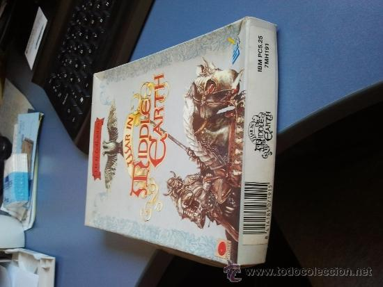 Videojuegos y Consolas: juego pc ibm antiguo diskette war in tiddle eart - Foto 1 - 37539452