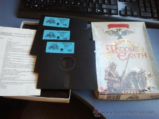 Videojuegos y Consolas: juego pc ibm antiguo diskette war in tiddle eart - Foto 3 - 37539452