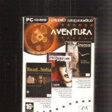 Videojuegos y Consolas: JUEGO PC ROAD TO INDIA. Lote 38101327