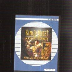 Videojuegos y Consolas: JUEGO PC KING QUEST. Lote 38101406