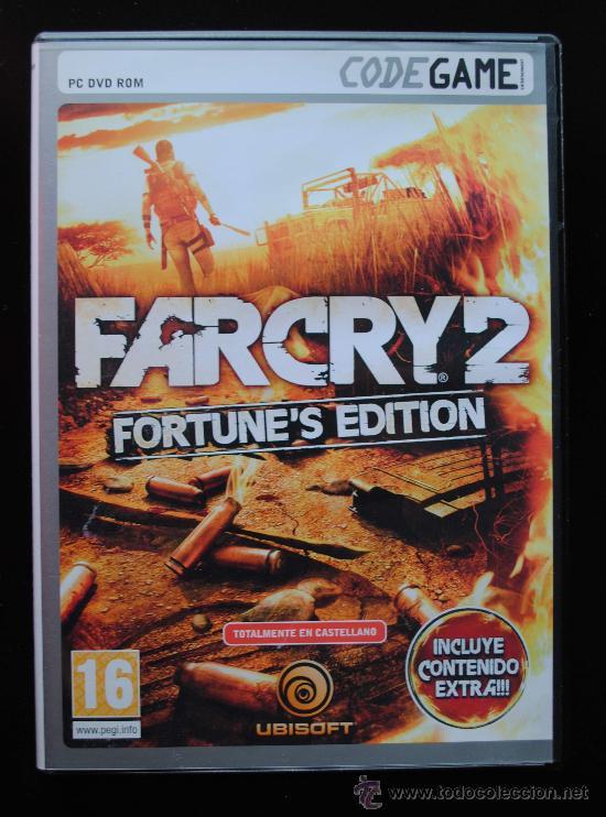 FARCRY 2 (FORTUNE'S EDITION) (PC) CODEGAME (Juguetes - Videojuegos y Consolas - PC)