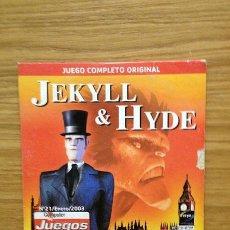 Videojuegos y Consolas: JEKYLL & HYDE AVENTURA GRÁFICA. Lote 38229269