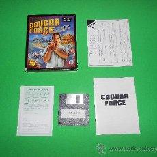 Videojuegos y Consolas: COUGAR FORCE - PC - DISKETTE - S4 - TOMAHAWK. Lote 38413714
