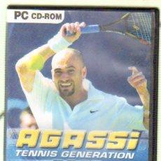 Videojuegos y Consolas: AGASSI TENNIS GENERATION (VIDJUEG-013). Lote 38525718