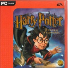 Videojuegos y Consolas: HARRY POTTER Y LA PIEDRA FILOSOFAL JUEGO PC EA VALUE LINE. Lote 38537953