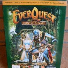 Videojuegos y Consolas: JUEGO EVER QUEST THE RUINS OF KUNARK. Lote 51599236