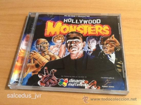 Hollywood Monsters Dinamic Multimedia Juego Ret Comprar
