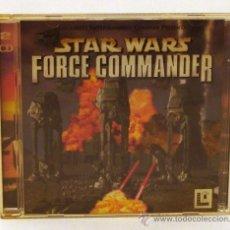 Videojuegos y Consolas: JUEGO DE PC - STAR WARS FORCE COMMANDER (LUCAS ARTS). Lote 38889068