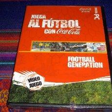 Videojuegos y Consolas: PC JUEGA AL FÚTBOL CON COCA COLA. FOOTBALL GENERATION 2006. PRECINTADO.. Lote 38955472