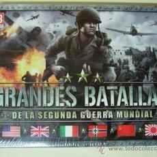 Videojuegos y Consolas: GRANDES BATALLAS 2ª GUERRA MUNDIAL CAJA 4 JUEGO PC VIDEOJUEGO MEN OF WAR WINGS PREY DEATH TO SPIES. Lote 39234328