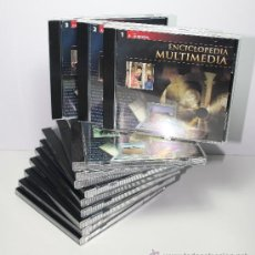 Videojuegos y Consolas: CD-ROM ENCICLOPEDIA MULTIMEDIA, PLANETA-AGOSTINI, 12 CDS. Lote 39207809
