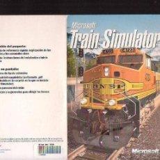 Videojuegos y Consolas: TRAIN SIMULATOR - JUEGO PARA PC , CONTIENEN DOS DISCOS. Lote 39537163