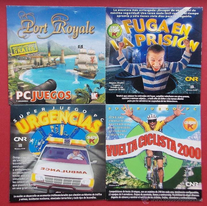 4 Antiguos Juegos Para Pc Urgencias Vuelta Comprar Videojuegos