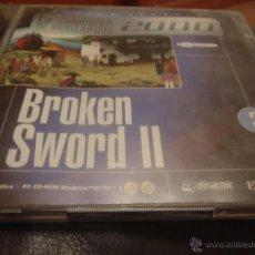 Videojuegos y Consolas: JUEGO PC BROKEN SWORD II 2 CD. Lote 39790643