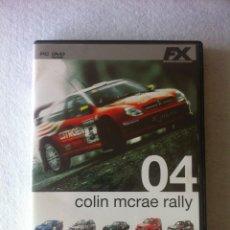 Videojuegos y Consolas: JUEGO PC COLIN MCRAE RALLY 04. Lote 39813398