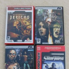 Videojuegos y Consolas - Lote de 4 juegos para PC: The House of the Dead 2, The Longest Journey, Jericho y Starship Troopers - 40006966