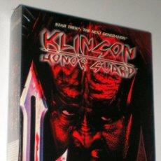 Videojuegos y Consolas: STAR TREK:THE NEXT GENERATION KLINGON HONOR GUARD [MICROPROSE] 1998 - PROEIN [PC CDROM] PRECINTADO. Lote 40067896