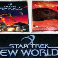 Videojuegos y Consolas: STAR TREK: NEW WORLDS [2000] INTERPLAY ENT / VIRGIN [PC CDROM] [NUEVO PRECINTADO] [ESTRATEGIA]. Lote 40074473