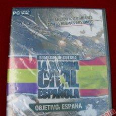 Videojuegos y Consolas: SOMBRAS DE GUERRA LA GUERRA CIVIL ESPAÑOLA OBJETIVO: ESPAÑA - PC - NUEVO Y PRECINTADO. Lote 40102670