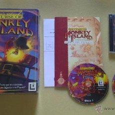 Videojuegos y Consolas: JUEGO DE PC, ORDENADOR THE CURSE OF MONKEY ISLAND. Lote 40651755