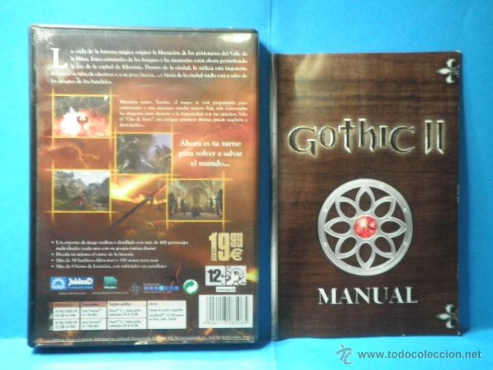 Videojuegos y Consolas: JUEGO PC GOTHIC II - Foto 2 - 40791708