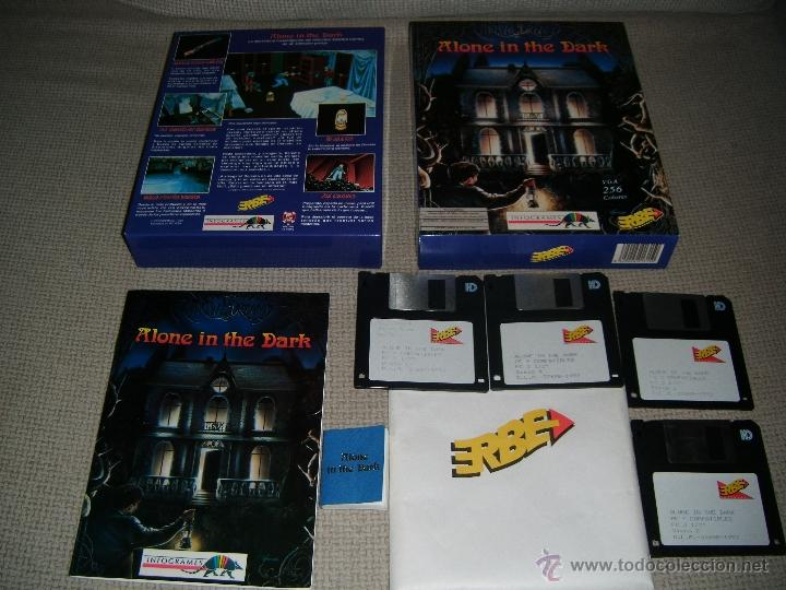 Alone In The Dark Caja Infogrames 1992 Castel Sold Through