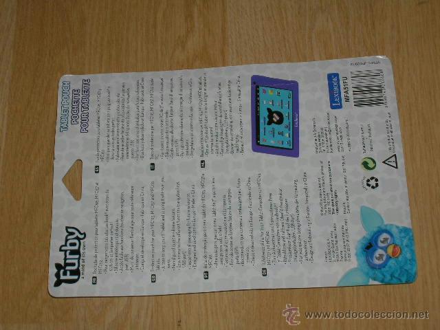 Videojuegos y Consolas: Funda Protectora para TABLETA TABLET PC MFC195 , MFC157 y MFC162 NUEVA Sin Estrenar FURBY - Foto 2 - 40862885