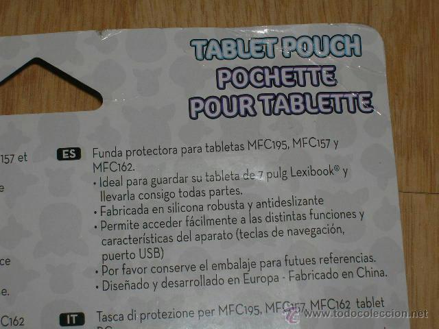 Videojuegos y Consolas: Funda Protectora para TABLETA TABLET PC MFC195 , MFC157 y MFC162 NUEVA Sin Estrenar FURBY - Foto 3 - 40862885