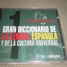 Videojuegos y Consolas: GRAN DICCIONARIO DE LA LENGUA ESPAÑOLA Y UNIVERSAL LAROUSSE Nº 1. Lote 40926450