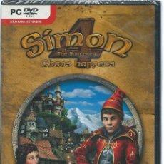 Videojuegos y Consolas: SIMON THE SORCERER 4 - CHAOS HAPPENS - TOTALMENTE EN CATELLANO - JUEGO PC - NUEVO PRECINTADO. Lote 41022585