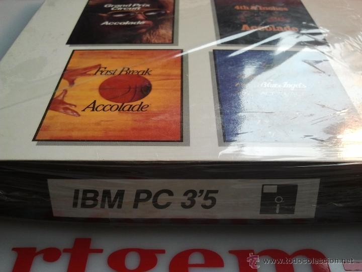 Videojuegos y Consolas: 4 juegos pc antiguos en diskette precintados ibm pc - Foto 2 - 41106126