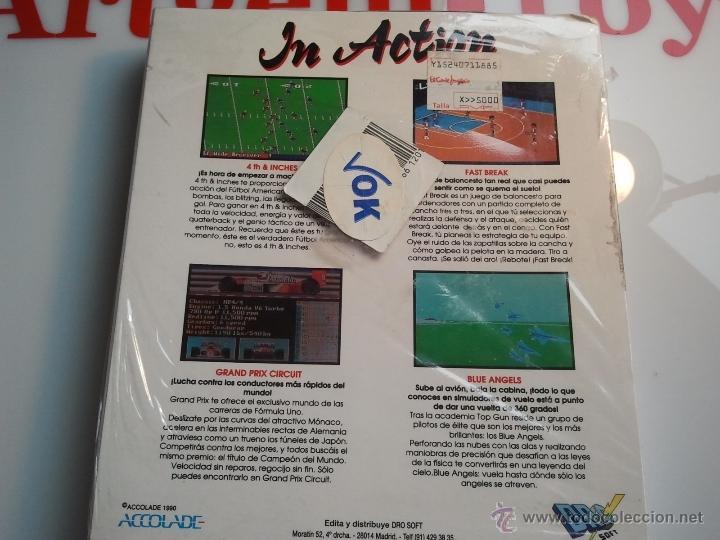 Videojuegos y Consolas: 4 juegos pc antiguos en diskette precintados ibm pc - Foto 4 - 41106126