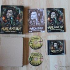 Videojuegos y Consolas: ARCANUM HECHIZOS Y ENGRANAJES JUEGO PC EDICIÓN ESPAÑOLA CAJA CARTÓN BIG BOX. Lote 41113566