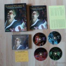 Videojuegos y Consolas: LANDS OF LORE II JUEGO PC EDICIÓN ESPAÑOLA CAJA CARTÓN BIG BOX LANDS OF LORE 2. Lote 162547773
