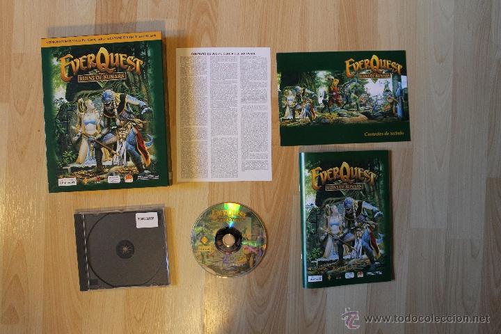 EVER QUEST THE RUINS OF KUNARK JUEGO PC EDICIÓN ESPAÑOLA CAJA CARTÓN BIG BOX (Juguetes - Videojuegos y Consolas - PC)