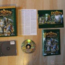 Videojuegos y Consolas: EVER QUEST THE RUINS OF KUNARK JUEGO PC EDICIÓN ESPAÑOLA CAJA CARTÓN BIG BOX. Lote 41115799