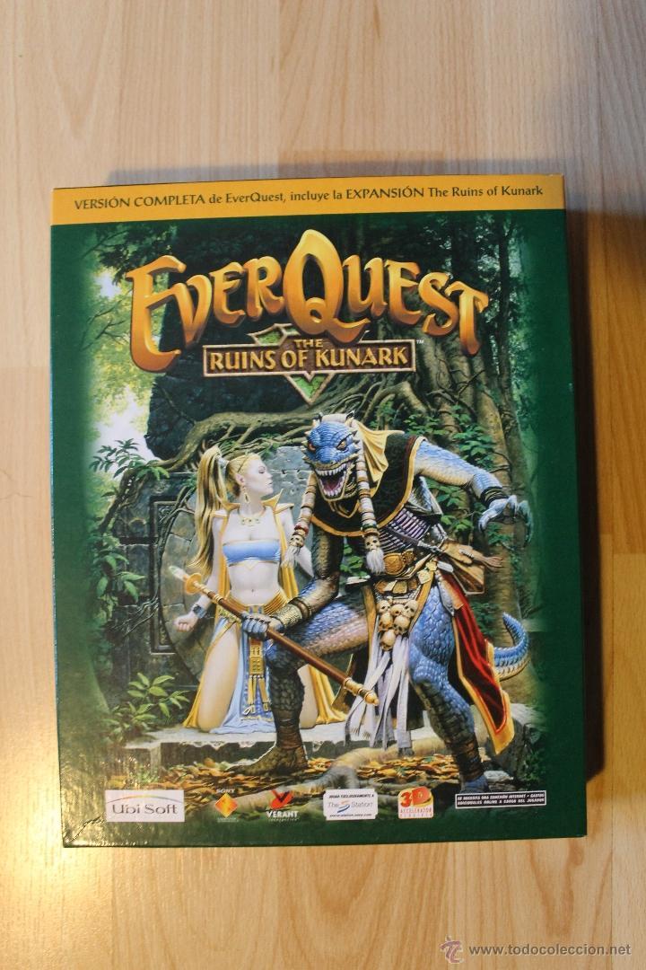 Videojuegos y Consolas: EVER QUEST THE RUINS OF KUNARK JUEGO PC EDICIÓN ESPAÑOLA CAJA CARTÓN BIG BOX - Foto 2 - 41115799