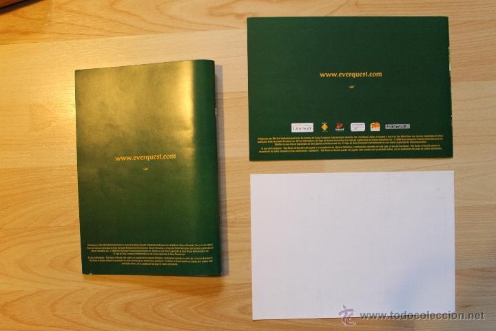 Videojuegos y Consolas: EVER QUEST THE RUINS OF KUNARK JUEGO PC EDICIÓN ESPAÑOLA CAJA CARTÓN BIG BOX - Foto 5 - 41115799