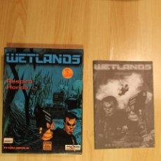 Videojuegos y Consolas: WETLANDS JUEGO PC EDICION ESPAÑOLA CAJA CARTON BIG BOX. Lote 41117629
