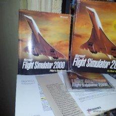 Videojuegos y Consolas: JUEGO PARA PC FLIGHT SIMULATOR 2000, MICROSOFT. Lote 41121358