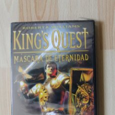 Videojuegos y Consolas: KING'S QUEST MASCARA DE ETERNIDAD JUEGO PC PRECINTADO EDICION ESPAÑOLA. Lote 41158513