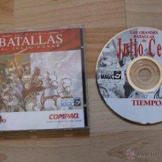 Videojuegos y Consolas: LAS GRANDES BATALLAS DE JULIO CESAR JUEGO PC EDICIÓN ESPAÑOLA. Lote 41263487