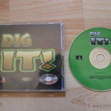 Videojuegos y Consolas: DIG IT! JUEGO PC EDICIÓN ESPAÑOLA. Lote 41263634