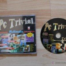 Videojuegos y Consolas: PC TRIVIAL MULTIMEDIA JUEGO PC EDICIÓN ESPAÑOLA. Lote 41264059