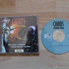Videojuegos y Consolas: CHAOS CONTROL JUEGO PC EDICIÓN ESPAÑOLA 1995. Lote 41264711