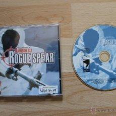 Videojuegos y Consolas: TOM CLANCY'S RAINBOW SIX ROGUE SPEAR JUEGO PC EDICIÓN ESPAÑOLA. Lote 41302365